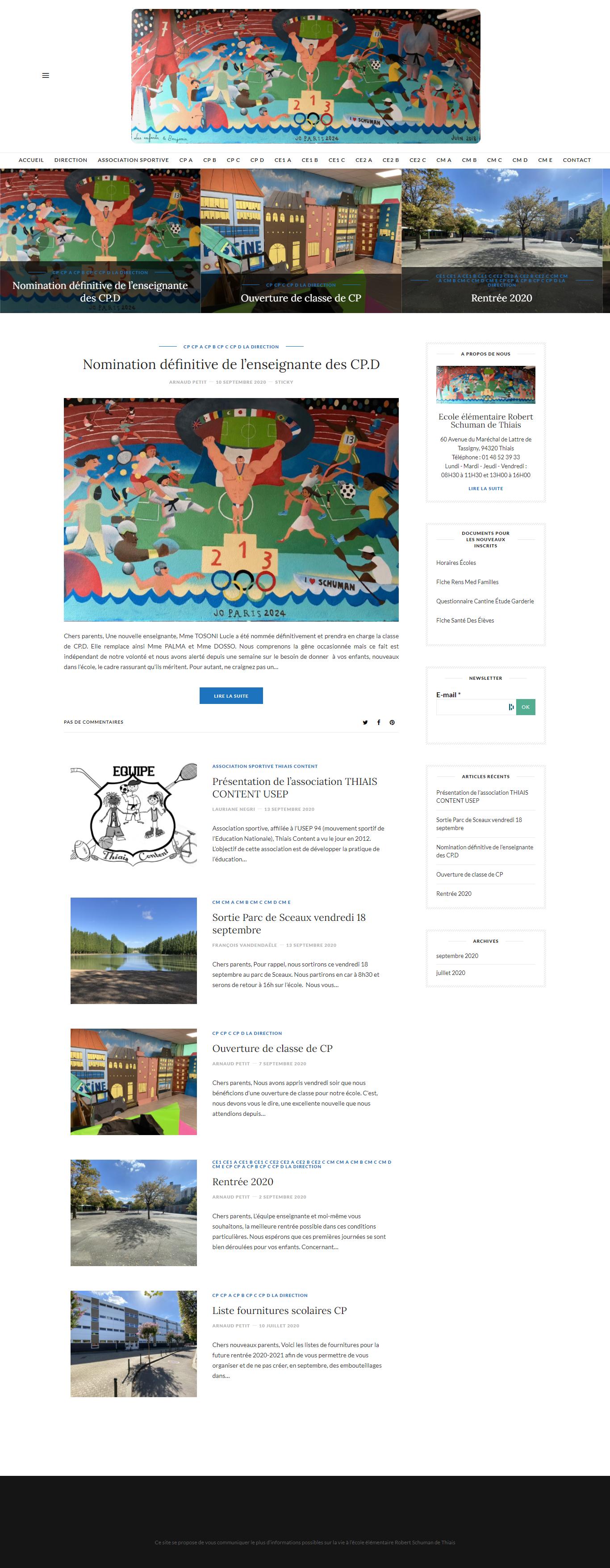 Site Ecole Schuman