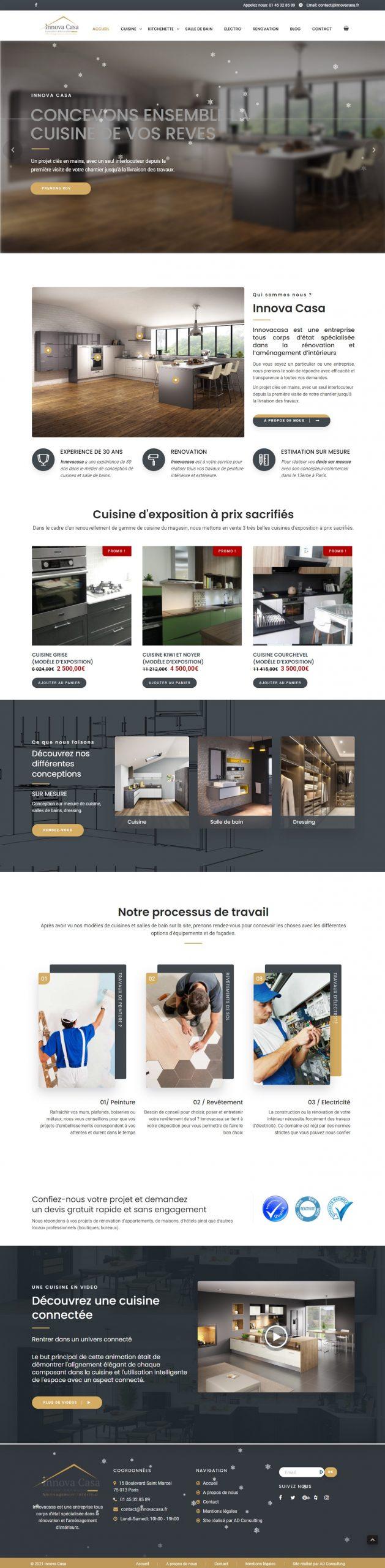Innova Casa Accueil