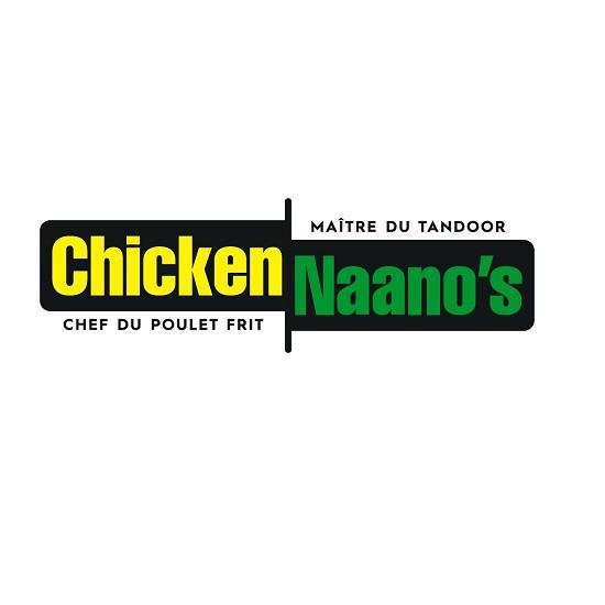 Logo Chicken Naanos jaune et vert