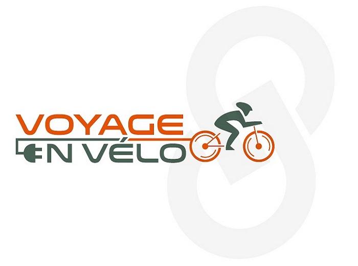 Logo Voyage en vélo option 1