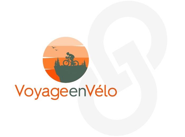 Logo Voyage en vélo option 2