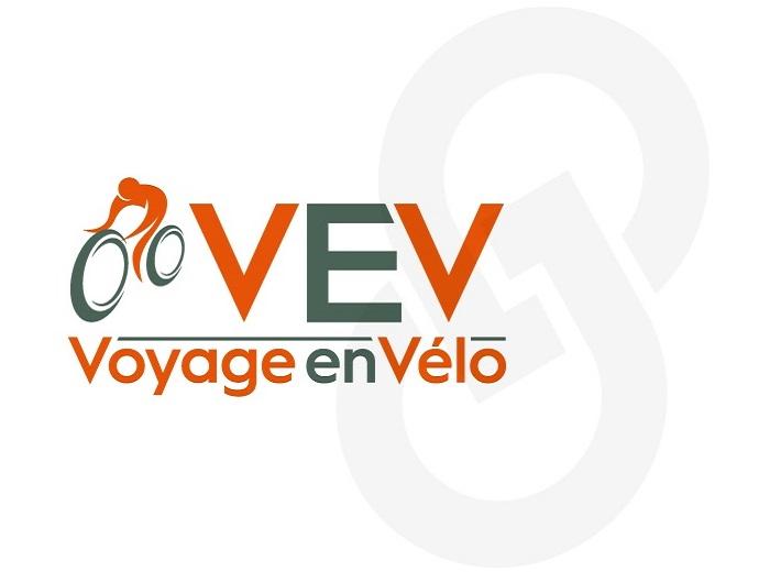 Logo Voyage en vélo option 3
