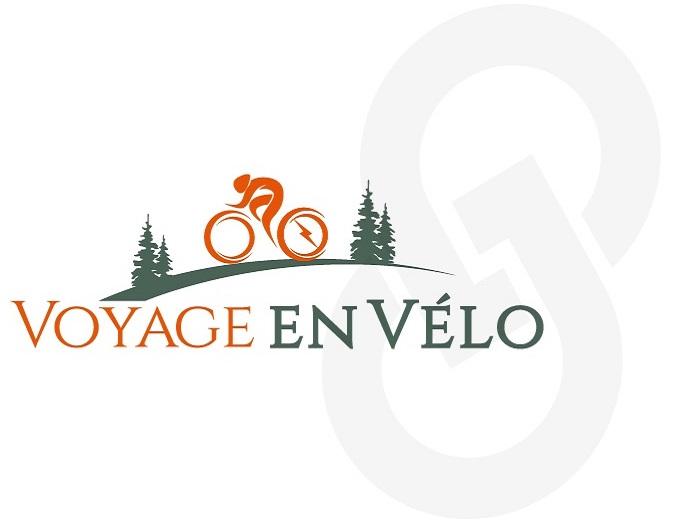 Logo Voyage en vélo option 4