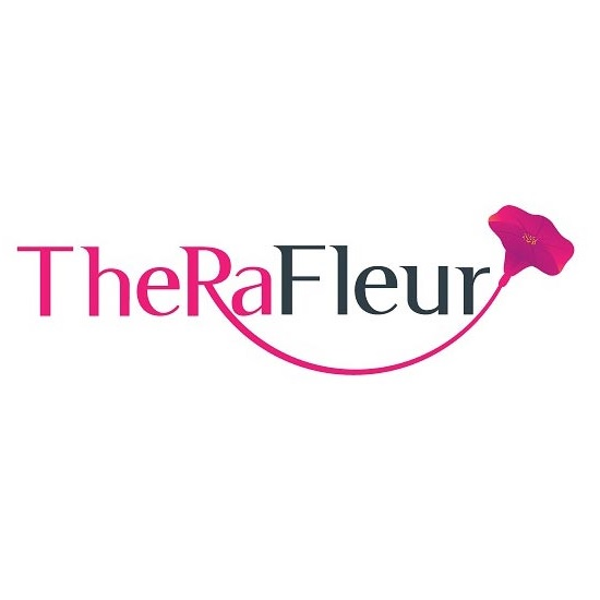 Logo Therafleur page conception logo
